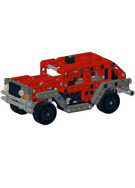 Small Technic Truck