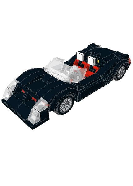 RD705 - Black Jack Racing Car